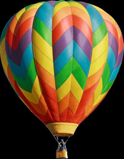foto globos volando
